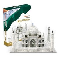 Wholesale India Papers - Wholesale-Special authentic cubicfun 3D puzzle paper model MC081h India Taj Mahal - hardcover edition toy