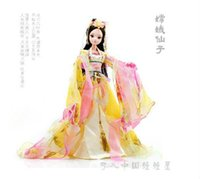 Wholesale Kurhn Chinese Myth - Free Shipping Novelty 29cm Kurhn Joint Body Dolls Chinese Myth Dolls The Goddess In The Moon 9026 Best Fashion Doll For Children