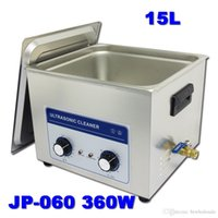 Wholesale Cleaning Supplies Equipment - Supply big ultrasonic cleaner 15L AC110 220V JP-060 clean the king of the circuit board ,metal parts cleaning equipment