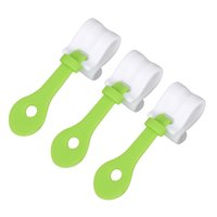 Wholesale Disposable Clips - Wholesale- 3 pcs lot Cake Decorating Bag Clips DIY Piping Decorating Bag Buckles Reusable Baking Tools Holds Kitchen Accessories