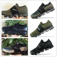 Wholesale Elastic Rubber Sports Running - 2017 New Rainbow VaporMax 2018 BE TRUE Men Woman Shock Running Shoes For Real Quality Fashion Man Casual Vapor Maxes Sports Sneakers