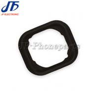 """Wholesale Iphone Home Button Rubber - 100pcs lot Home Button Holding Gasket Rubber Spacer For iPhone 6 4.7"""" Plus 5.5"""" Free Shipping"""