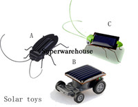Energía Solar Powered Spider Cucaracha Power Robot Bug Grasshopper Early Gadget Educativo Juguete para Niños Mini Kit Novedad Kid