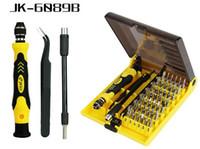 Wholesale 45 screwdriver torx - 45 In 1 Screwdriver Tool Electron Torx Multifunction Repair tool with 130mm various angle veer JK-6089