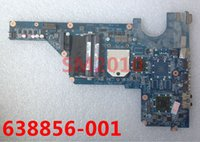 Wholesale Motherboard For Hp G6 - Wholesale-638856 638856-001 MODEL R22 for HP Pavilion G4 G6 G7 Laptop Motherboard for AMD mainboard 100% tested