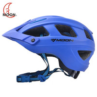 Wholesale Bicycle Helmets Moon - MOON Ultralight Bicycle Helmet Safety Cycling Helmet Protect Integrally-molded Bike Helmet Casco Ciclismo 57-62 CM