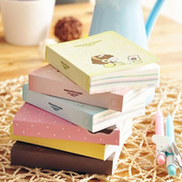 Wholesale Kawaii Diary Book - 1x Little Book Diary Planner Journal School Scheduler Organizer Agenda Cute Kawaii Notebooks Freeshipping