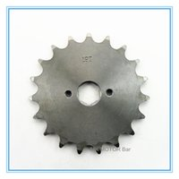 Wholesale Wholesale Axle Parts - 520# 19 teeth, 20.5mm Axle engine front sprocket Pignon Quenching Harden Quality Factory Directly Wholesale