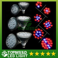 Wholesale E27 36w Grow - Full Spectrum LED Grow Light 15W 21W 27W 36W 45W 54W E27 Grow Lamp PAR38 PAR30 Bulb Flower Plant Hydroponics System lights 1000