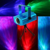 Wholesale Stage Laser Balls - LED Water Ripples Light LED Laser Stage Lighting Colorful Wave Ripple Shining Effect Disco Light for Party Disco Concert Balls