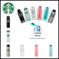 Новые 17oz Starbucks Coffee Mugs with Jumping-lid 304 из нержавеющей стали Thermos Party Cups Keep Warm / Cold Water Bottles