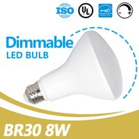 Led Energy Star for sale - China Led Bulb Suppliers 120V 650lm E26 Dimmable 8W Led BR30 Bulb UL Energy Star Listed