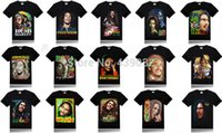 Wholesale Wholesale Bob Marley T Shirts - Wholesale-Wholesale man summer men hip hop fashion Reggae father BOB MARLEY 3D shirt Short Sleeve man t-shirts tshirt brand t shirt
