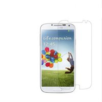 Wholesale Galaxy S4 Transparent - High Quality Clear Screen Protector For Samsung Galaxy S4 i9500 Transparent Screen Guard Crystal Protective Film
