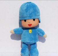 Wholesale Large Pato Toy - Trader BANDAI Plush 25cm Pocoyo Plush Doll Large Doll Lovely Pato Elly Cartoon Figure Toys