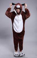 Wholesale Dog Onesie - new Adults Dog Doggy Onesie Anime Cosplay Costumes Unisex Women Men Pajamas
