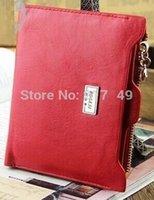 Wholesale Passport Wallet Women - new 2014 women wallets brand purses female thin wallet with zipper Coin Bag passport holder ID Card Case