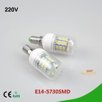 Wholesale Led Corn Lamp Price - 5Pcs Lower Price Spotlight 3W LED Corn Bulb E14 SMD 5730 24LEDs AC 220V LED lamp Energy Saving 24 LEDs Chandelier Candle light