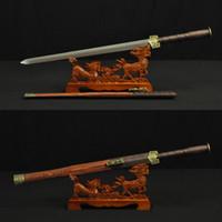 Wholesale Han Jian - HIGH QUALITY HAND MADE CHINESE SWORD HAN JIAN FOLDED STEEL BLADE#0001