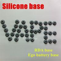 Wholesale Ekiss Bracket - Ego battery stand Silicone Sucker Colors ekiss e cigarette base bracket for ego ce4, ego ce5, vivi nova electronic cigarette ego t battery