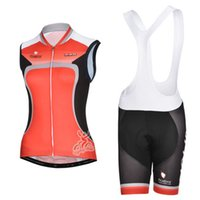Wholesale Bike Bibs Vest - factory Hot selling 2014 red women Road Bike sports cycling Sleeveless Jersey shirt outer vest bib Shorts ciclismo maillot Cycling vest kits