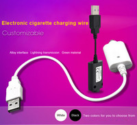 Wholesale E Cigarette Circuit - E-cigarette charger USB Cable Charging IC Program Short Circuit Protection 4.2V 420MA USB Short Long Charger Great Quality
