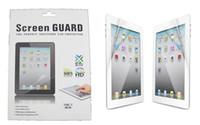 ingrosso pellicola chiara del mini schermo di ipad-Pellicola salvaschermo Pellicola protettiva trasparente per schermo LCD Pellicola protettiva con pacchetto di vendita per Ipad mini 1 2 3 4 Ipad 2 3 4 5 6 Ipad Pro 9.7 10.5