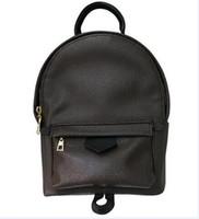 Wholesale Branded Laptop Bag Women - Luxury brand women bag School Bags PU leather Fashion Famous designers backpack women travel bag backpacks laptop bag