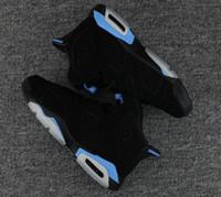sapatos de camurça azul para venda venda por atacado-Venda quente VI UNC 6 UNC Universidade Preta Azul gatorade Atacado homem de Alta Qualidade tênis de basquete MAROON 6 sapatas do esporte tamanho eur 41-47