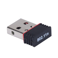 Wholesale Adaptor Usb Lan - Wifi Wireless USB Nano Adapter 150Mbps IEEE 802.11n g b Mini Adaptor LAN Network Card EP-N8531 free shipping