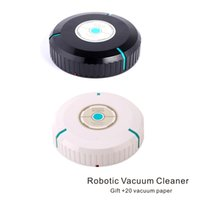 Wholesale Automatic Brush - Robotic Vacuum Cleaner Sweeper robot 360°automatic rotation Carpet Wood floor Stone floor Ceramic tile Animal hair Effective cleaning.