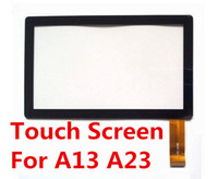 Wholesale Display Replacement Tablet - Brand New Touch Screen Display Glass Replacement For 7 Inch Q88 A13 A23 Tablet PC MID TC1