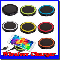 Qi Wireless Charger Celular X50 Mini Charge Pad para dispositivo com capacidade Qi Samsung Galaxy S3 S4 S5 Note2 / 3 Nokia HTC Iphone phone