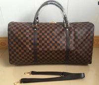 Wholesale Travel Bag Branded - 2018NEW TOP fashion men women travel bag duffle bag, brand designer luggage handbags large capacity sport bag