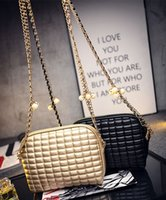 Wholesale Single Bead Drop - New Cross body bags 2016 fashion bags womens designer handbag chain with beads bags shoulder bags for lady handbags lady bags drop shipping