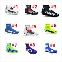 Wholesale Shoes For Bikes - Outdoor SI-DI Brand Cycling Shoe Cover Full Zip MTB Bike Shoe Cover Pro Road Racing Bicycle Shoe Covers For Man Women