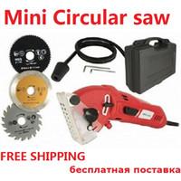 Wholesale Wood Tiles - Free shipping Multifunction power tool. Mini circular saw, Versatile cutting SAW For wood,metal,granite,marble,tile,brick!