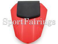 ingrosso yamaha r6 rivestimento di materie plastiche-Coprisedile in pelle rossa per Yamaha YZF600 R6 YZF-600 anno 08 09 10 11 12 13 14 Coprisedile in plastica in plastica ABS per iniezione Nuovo