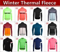 Wholesale High Quality Thermal Long Sleeve - 2015 high quality Cycling tops Professional team Cycling Jersey jacket long sleeves winter thermal fleece Cycling Jersey