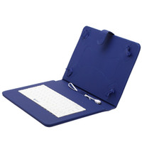 Wholesale Keyboard Mix - iRULU 10 inch Leather Keyboard Stand Case For 10 inch 10.1 inch Tablet PC Phablet 3G Tablet PC