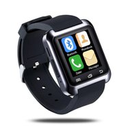Bluetooth Smart U80 Watch BT-notification Anti-Lost MTK WristWatch para iPhone 4 / 4S / 5 / 5S Samsung S4 / Nota 2 / Nota 3 Telefone Android