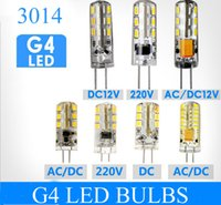 Wholesale G4 7w - High Power LED Blub G4 G9 24 48 64 leds SMD 3014 3W 5W 7W 110V 220V 12V warranty 2years Crystal chandelier lamp