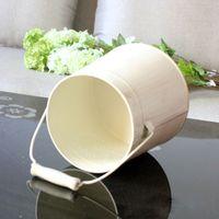 ingrosso vasi di stile vintage-Vaso da tavolo Vasi vintage in metallo in stile pastorale Vasi da fiori artificiali Mestieri per la decorazione domestica Decorazione del giardino