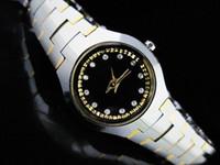 relógios de luxo de aço tungstênio venda por atacado-Relógios de luxo dos homens de moda casal de aço de tungstênio relógio de Quartzo RA14 Frete grátis