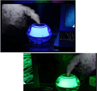 Wholesale Mist Maker Free - Free Epacket,(JX01)USB Humidifier Aroma Oil Diffuser Air Purifier Mist Maker LED Night Light Home Office