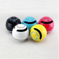 Wholesale 175 Led - YST-175 Bluetooth Portable Speaker Wireless Mini LED Light Speakers TF Card FM Radio Music Player For iPhone Samsung DHL Free MIS084