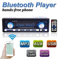 2015 Brand New 12V BLUETOOTH 1-Din Stereoradio MP3 USB / SD AUX Audio Player Auto in Dash 60Wx4 für Telefonauftrag $ 18NO Verfolgung