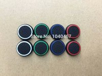 Wholesale Playstation Controller Grip - Free Shipping Durable Controller Analog Thumbstick Joystick Stick Grips Thumb Caps For Sony Playstation PS4 Accessories