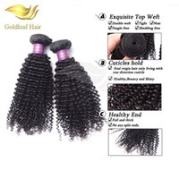 bakire mongolian kinky kıvırcık saçları topluyor toptan satış-Perulu Kıvırcık Saç Moğol Sapıkça Kıvırcık 3 Paketler İşlenmemiş Brezilyalı Virgin Saç Virgin İnsan Saç Malezya Sapıkça Kıvırcık