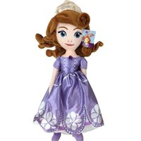 Wholesale First Baby Toy - 70CM Princess Plush Kid Toys 35cm Sofia The First Princess Soft Stuffed Baby Doll Christmas Gift For Kids TOY124